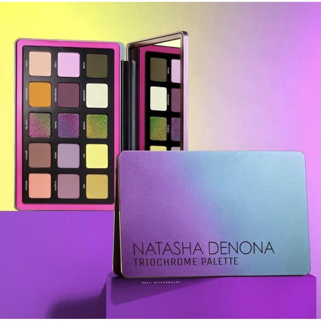 《現貨》Natasha Denona 聖誕 Triochrome Glam Love 眼影盤 Sunset Retro
