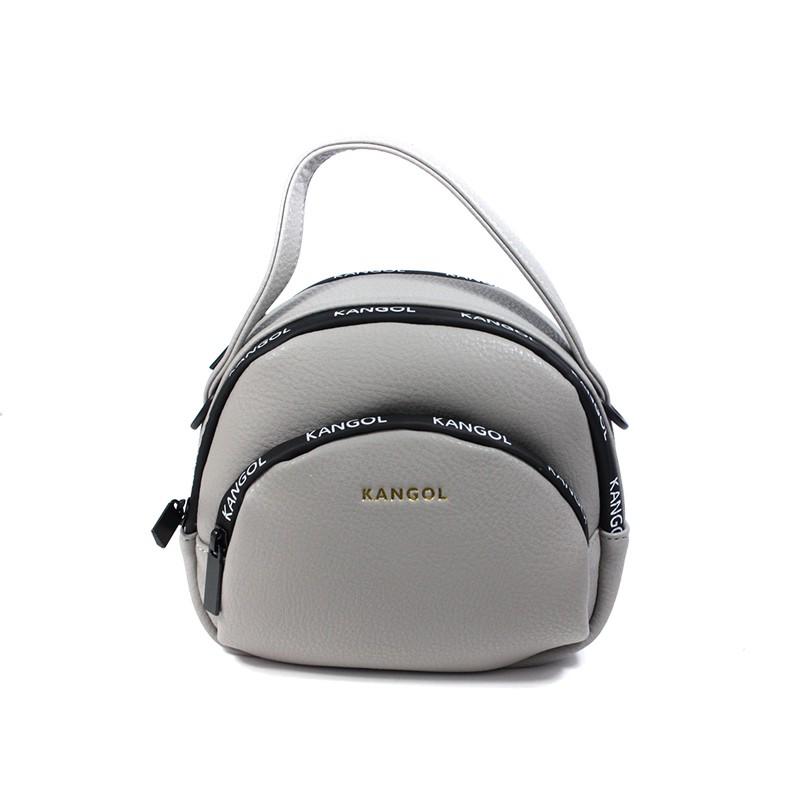 KANGOL 側背包 手提 灰色 6055301011 noC16