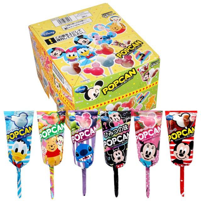 日本 固力果迪士尼米奇造型棒棒糖 不挑款出貨
