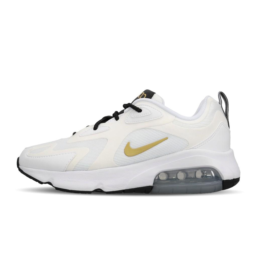 Nike 慢跑鞋 Wmns Air Max 200 白 金 女鞋 氣墊 運動鞋 AT6175-102 【ACS】