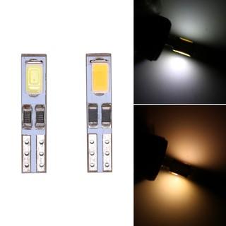 【現貨】T5 汽車儀表燈指示燈 2LED 5630 正白暖白色錦玉隆