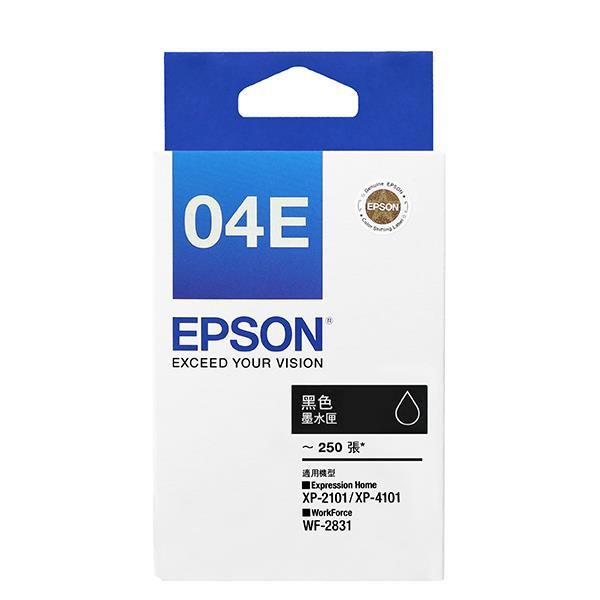 EPSON 愛普生 C13T04E150 T04E150 原廠黑色墨水匣 WF-2831/XP-2101/XP-4101