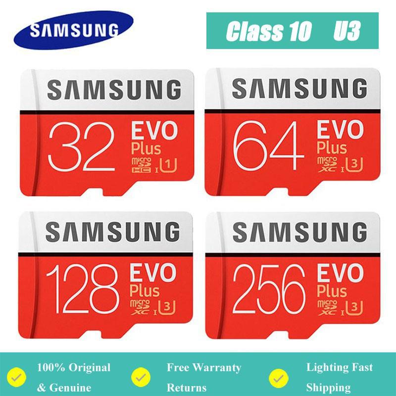 三星Evo Plus存儲卡32GB / 64GB / 128GB / 256GB / 512GB Micro SDXC