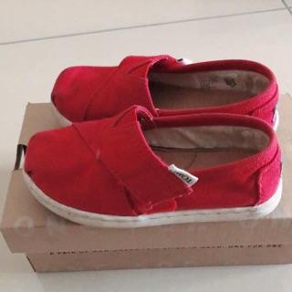 女童TOMS正版帆布鞋 高雄市