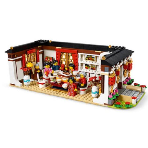 ☑玩具之家②☑正品樂高 80101 80103 LEGO 中國風春節限定款禮物 年夜飯 賽龍舟