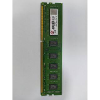 Transcend創見 8GB 2Rx8 DDR3-1600U /   4GB 2Rx8 DDR3-1333U  桌機
