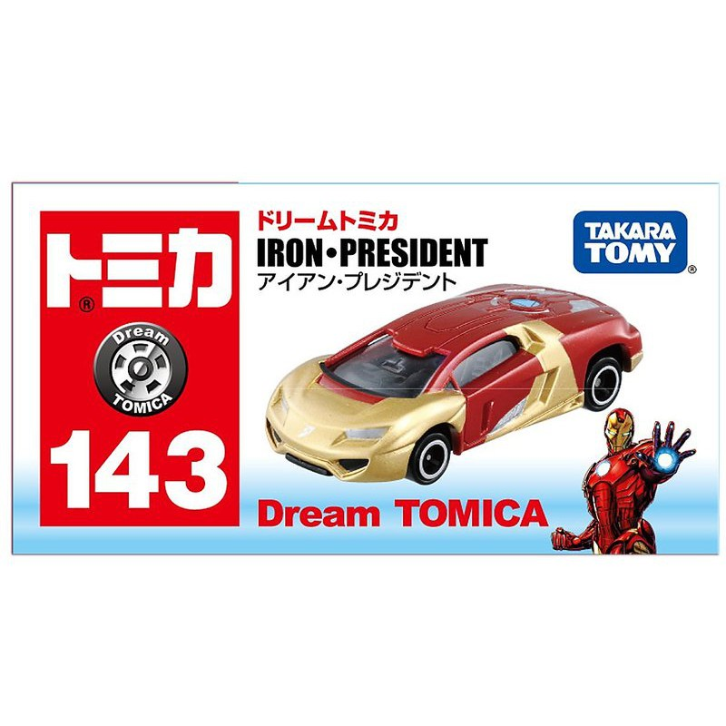 現貨 正版 TAKARA TOMY Dream TOMICA 143 鋼鐵人 跑車 21718181092965