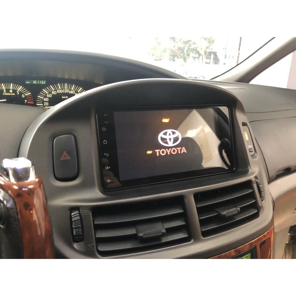 汽車音響 豐田專用型主機 七吋 Android 安卓版 2DIN 觸控螢幕主機導航/USB/電視/鏡頭/GPS/藍芽