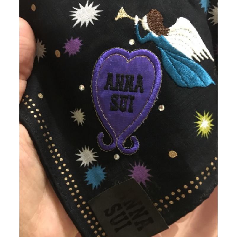 現貨 Anna sui絲巾 手帕⭕️全新