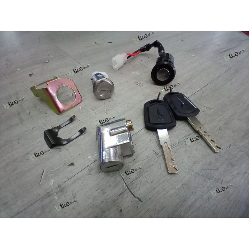電動車 戰狼開關鑰匙一組 kunci set sepeda satria xmen