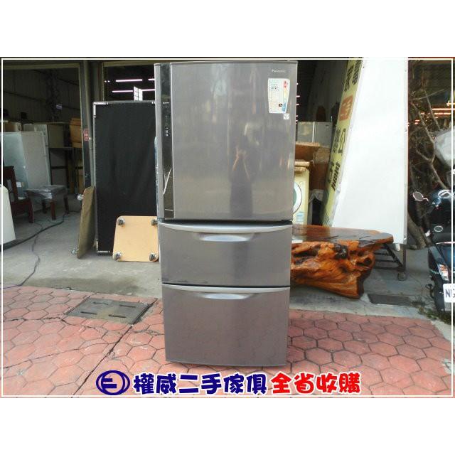 二手家具台中權威 國際牌變頻三門電冰箱NR-C567HV/560L ▪ 北屯中古傢俱家電回收冷凍櫃 臥式冰箱 上掀冰箱