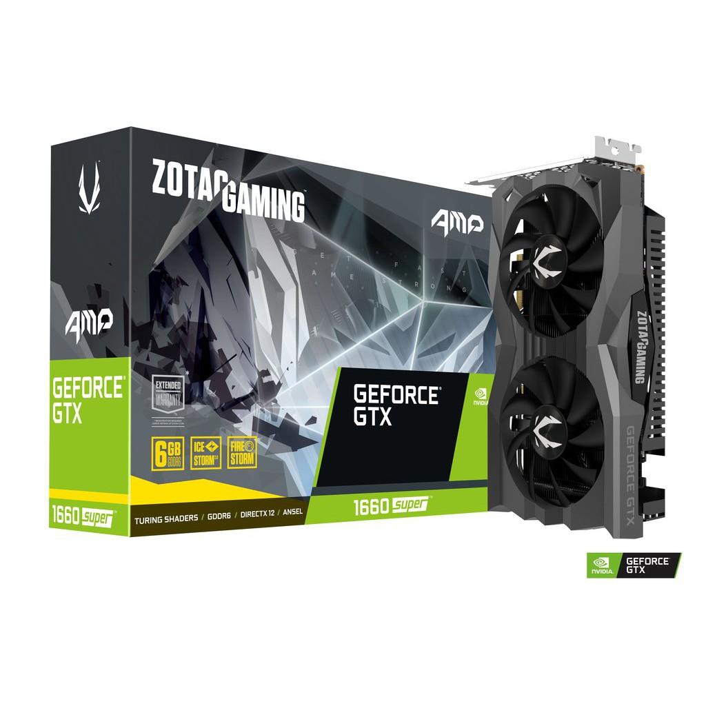 全新未拆 ZOTAC GAMING GeForce GTX 1660 SUPER AMP
