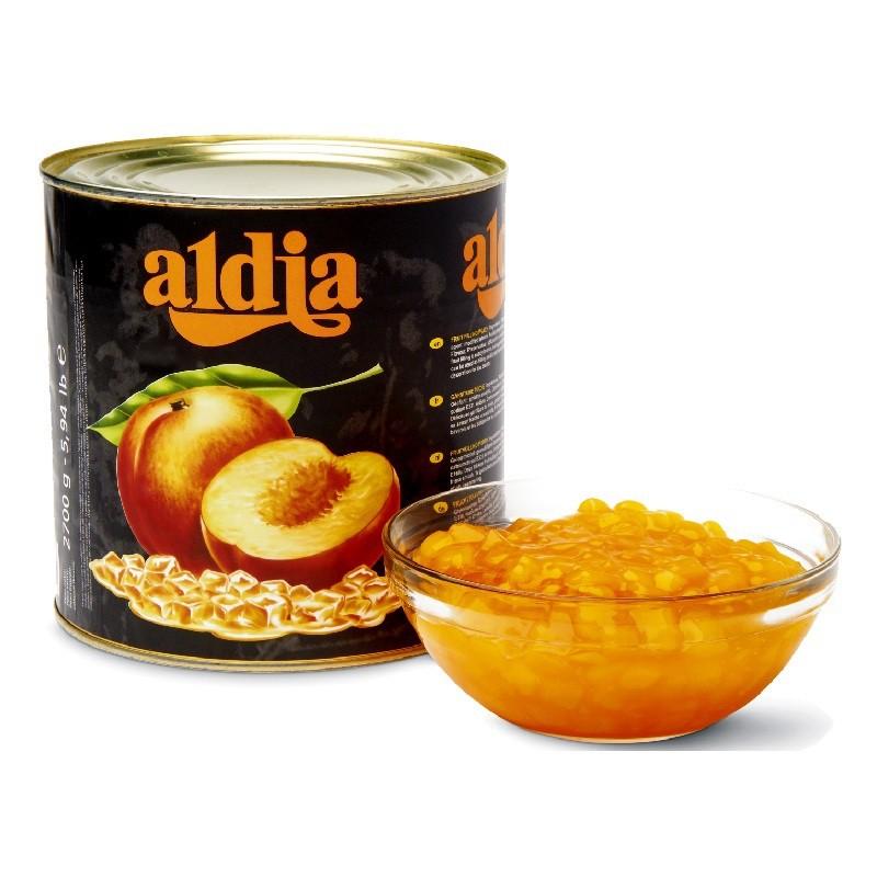 【德麥食品】 比利時 aldia愛迪亞 水蜜桃餡/2.7kg
