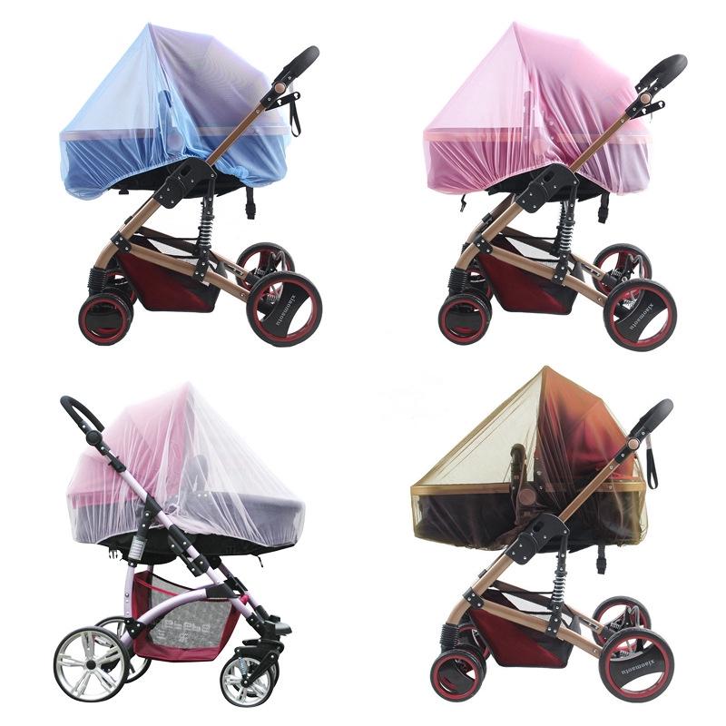 高密嬰兒手推車蚊帳童車通用型嬰兒車加大全罩式蚊帳