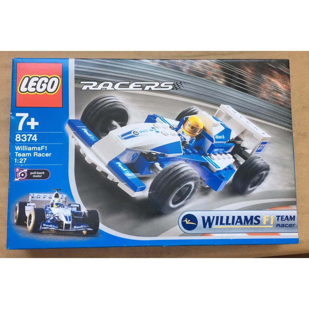 樂高 Lego Williams F1 Team Racer 1:27 8374(賽車系列/威廉斯車隊)