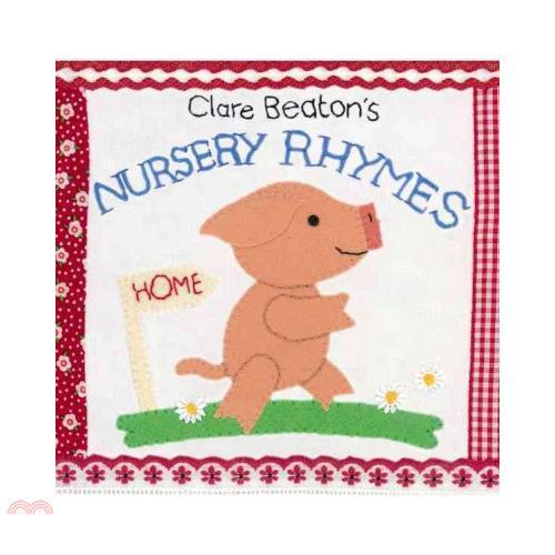 Clare Beaton's Nursery Rhymes【三民網路書店】(硬頁書)[79折]