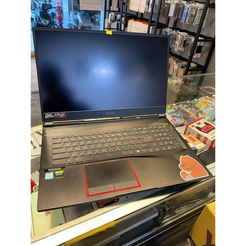 [龍龍3C] 微星 Msi I7 16G 512GB SSD 1T RTX2060 電競 獨顯 筆記型電腦 GE75