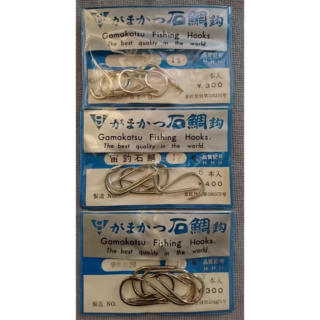 gamakatsu がまかつ 宙釣石鯛 15/16/17/20号 石鯛鉤