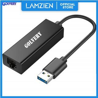 用於Nintendo Switch的USB 2.0轉RJ45以太網適配器10/ 100/ 1000 Mbps千兆USB LA