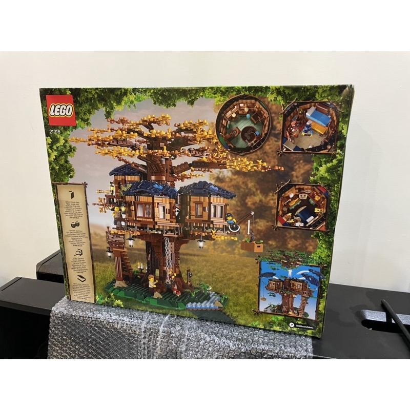 Lego 21318 樹屋 好盒