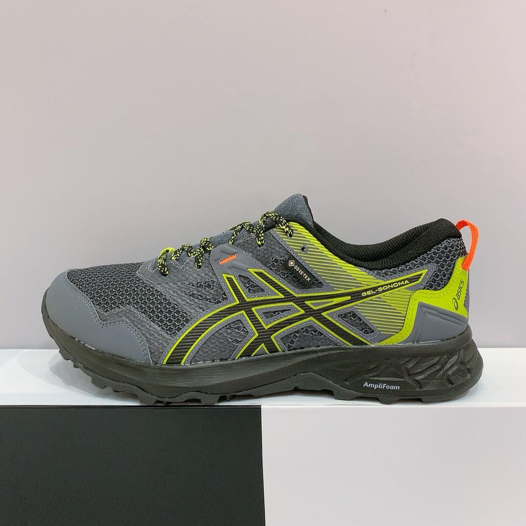 ASICS GEL-SONOMA 5 GTX 男生 灰綠色 防水 亞瑟膠 越野 運動 慢跑鞋 1011A660-020