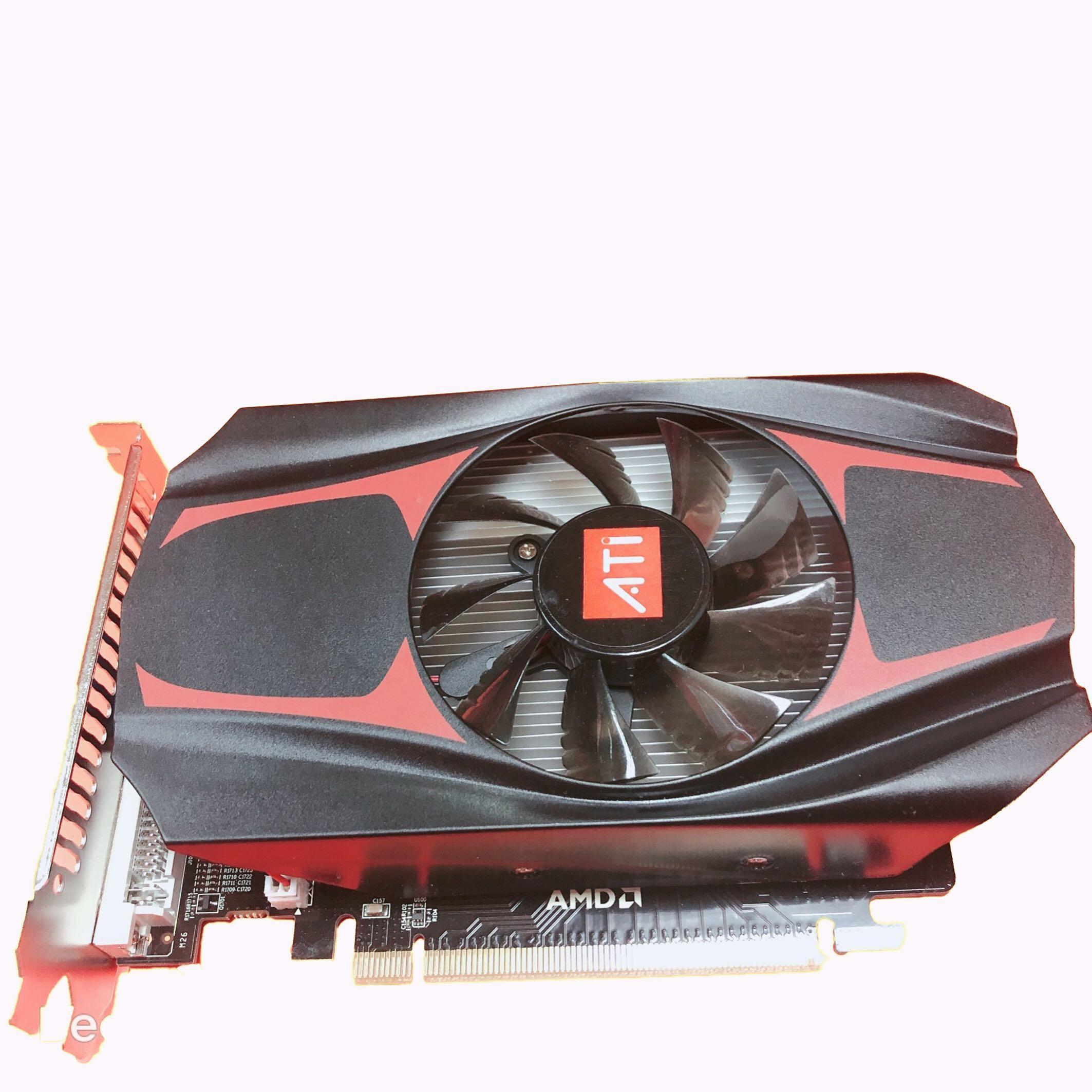 AMD HD7670 4G 游戲裝機升級臺式機獨立顯卡 Hd6770 4g 6570 7600