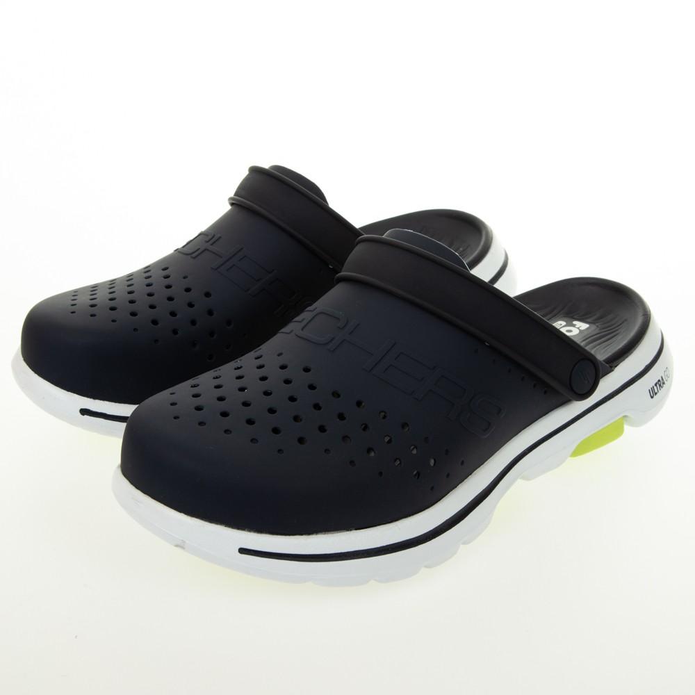 SKECHERS 男健走系列涼拖鞋 FOAMIES GO WALK 5 - 243010NVY