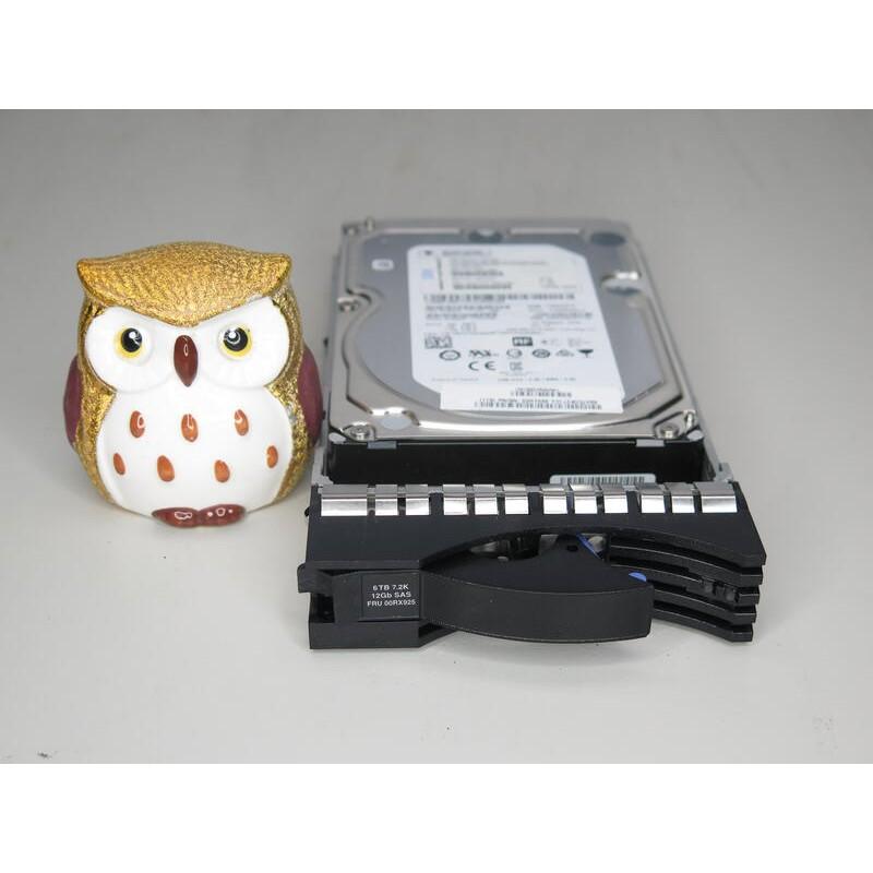 IBM 00RX925 00RY086 00WY957 6TB 7.2K SAS 12G 3.5 V5000 HDD