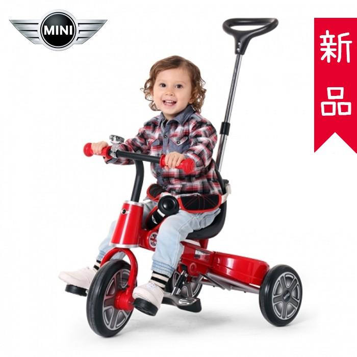 【C0016】愛妮童裝舖 補貨中 免運 Mini Cooper折疊三輪車10吋 手推車 自行車 台灣代理公司貨
