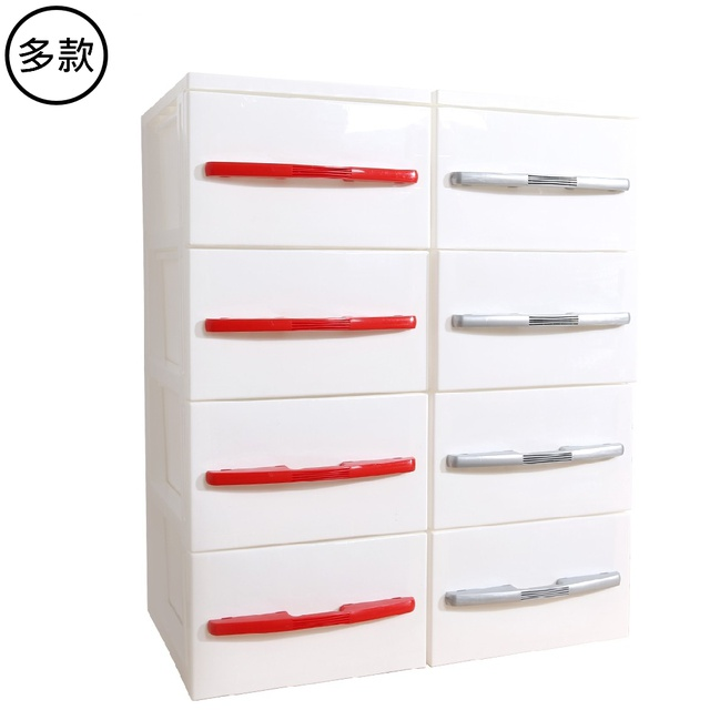 HOUSE 日式簡約 五層 收納櫃 收納 DIY簡易組裝 紅 灰 可選 免運 廠商直送