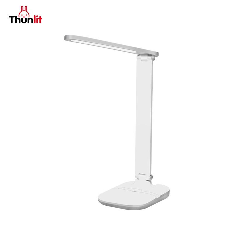 Thunlit可充電書桌檯燈 觸摸開關3種色溫便攜式