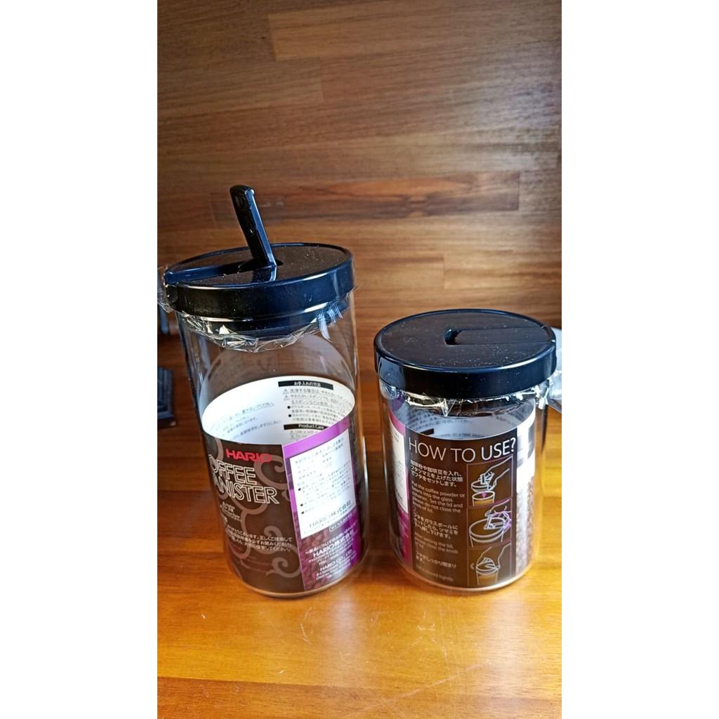 HARIO咖啡保鮮密封罐300g 滿水1000ml MCN-300B 耐熱玻璃 玻璃罐 咖啡罐 另有200g保鮮罐