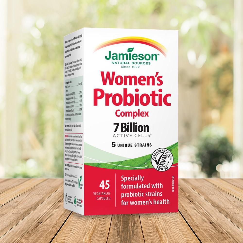 【Jamieson健美生】淨美舒女性專用益生菌 45顆膠囊/瓶 (加拿大原裝進口) 新鮮貨