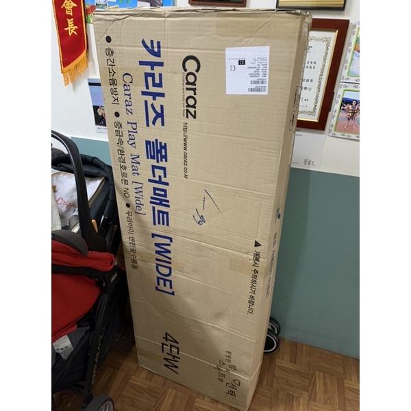 Caraz韓國地墊 全新僅開箱檢查