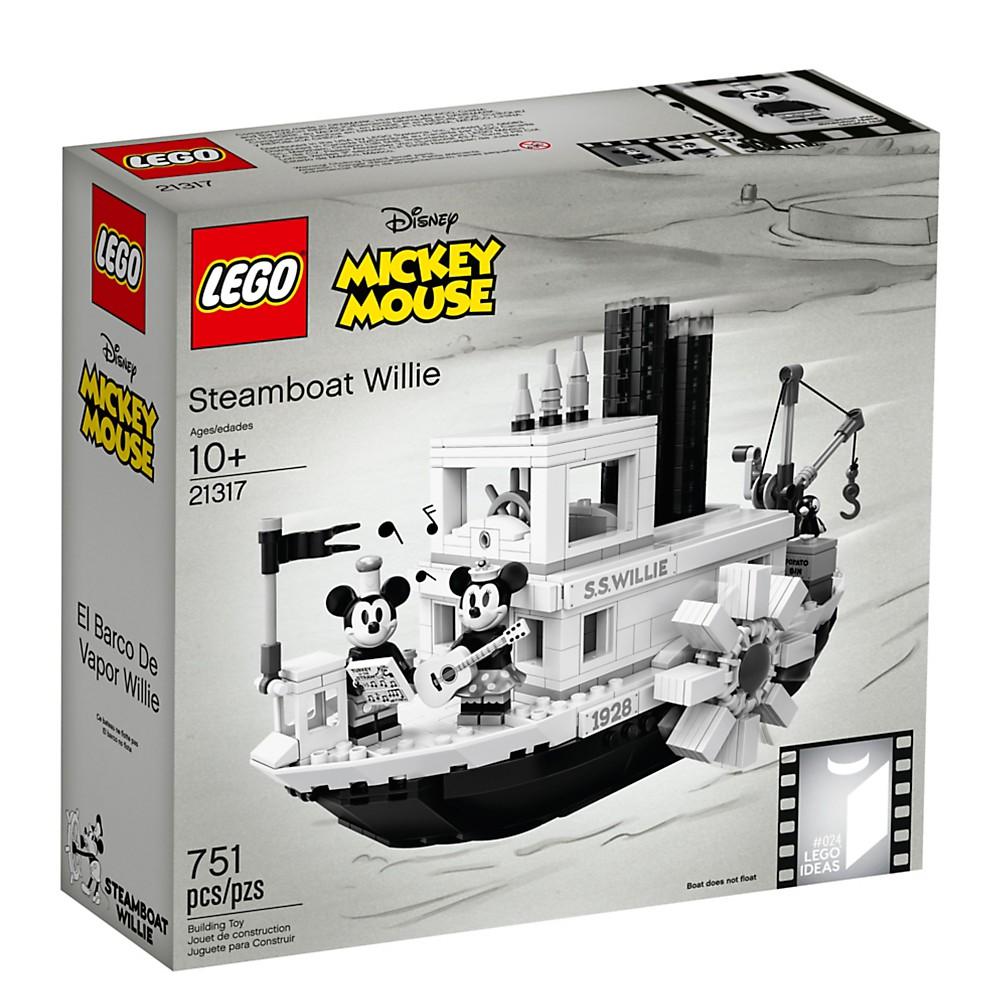 LEGO 21317 米奇蒸汽船 IDEAS系列 【必買站】樂高盒組