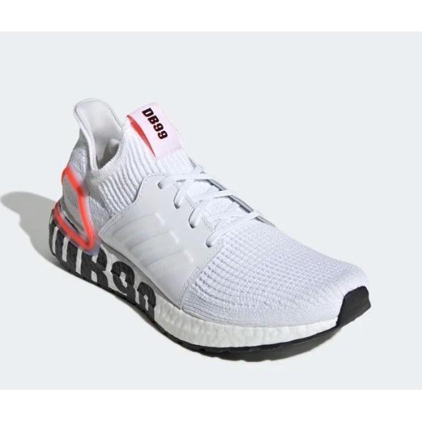 正品ADIDAS ULTRABOOST 19 DB 白 運動 襪套 慢跑鞋 男鞋 貝克漢 休閒 FW1970 YTS