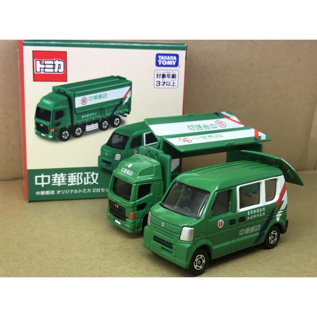 TOMICA台灣限定 特注 中華郵政車組-賣場買滿2000元以上加購-其他有加購商品及已特價商品,不列計算
