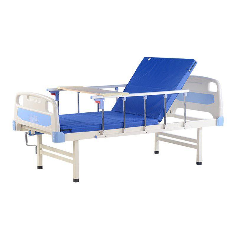 [工廠直銷 包郵】注塑單搖護理床鋁護家用病床老人癱瘓病床選床墊護欄醫療理療床JT