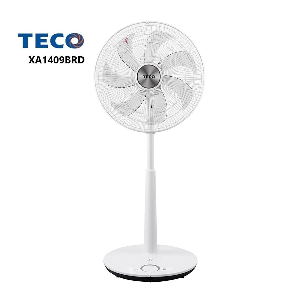 TECO東元 14吋 DC 電風扇 XA1409BRD 七片扇葉 台灣製造 保固一年【雅光電器商城】