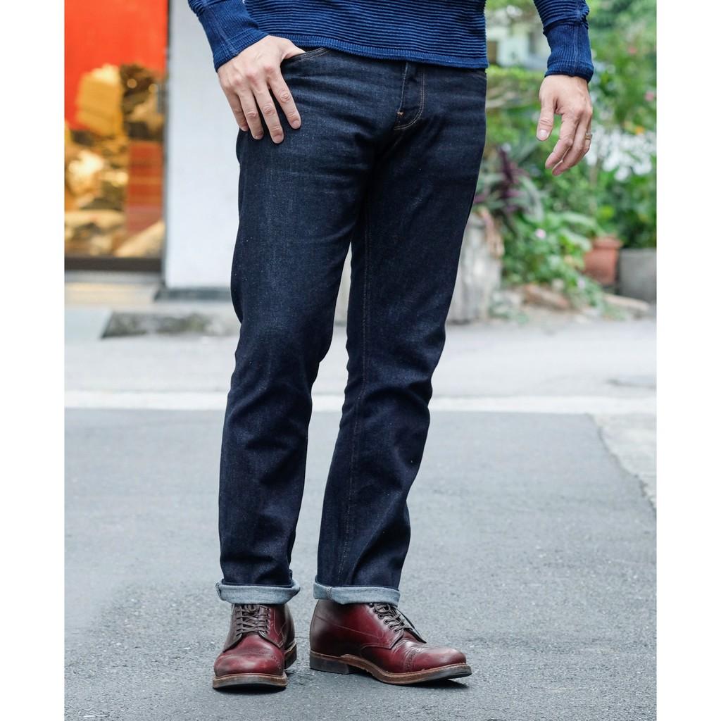 COF Studio M1 輕磅舒適高科技彈力中腰修身小腳牛仔褲
