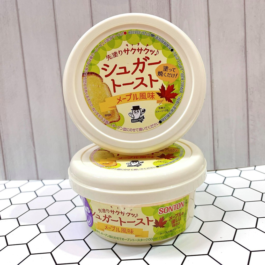 日本代購~現貨!!!Sonton楓糖風味吐司抹醬110g