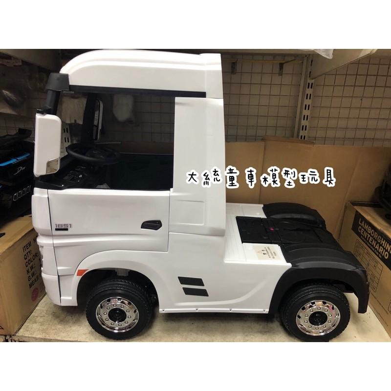 四輪驅動賓士卡車頭兒童乘坐電動車