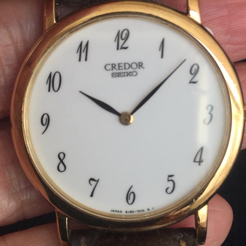 CREDOR 18K腕錶
