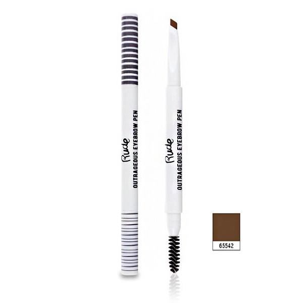 【Rude】 野蠻女友三角雙頭眉筆 自然棕 0.3g