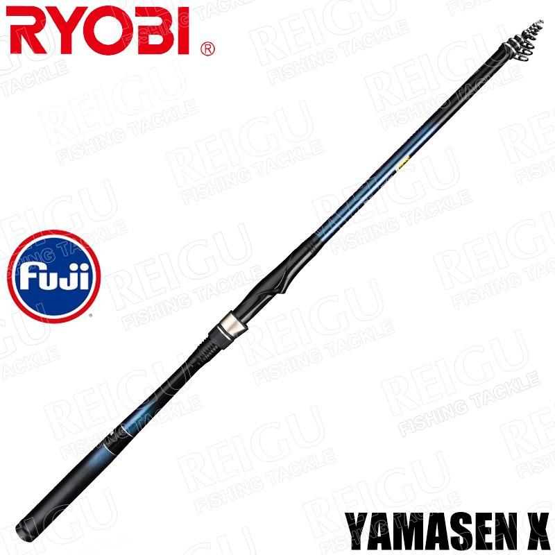 日本RYOBI YAMASEN X 磯釣竿 2# 3# 海釣竿 岸拋 手竿 船釣 淡海兩用 短節磯竿 碳素釣魚竿 釣竿
