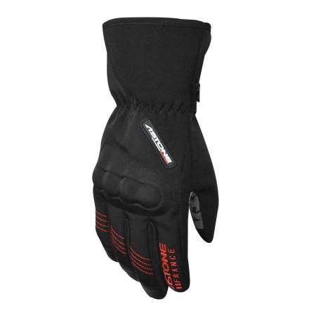 『美帽秀秀』ASTONE GA50 黑/紅 冬季 防風防水 保暖手套 可觸控 隱藏式護具 防摔手套