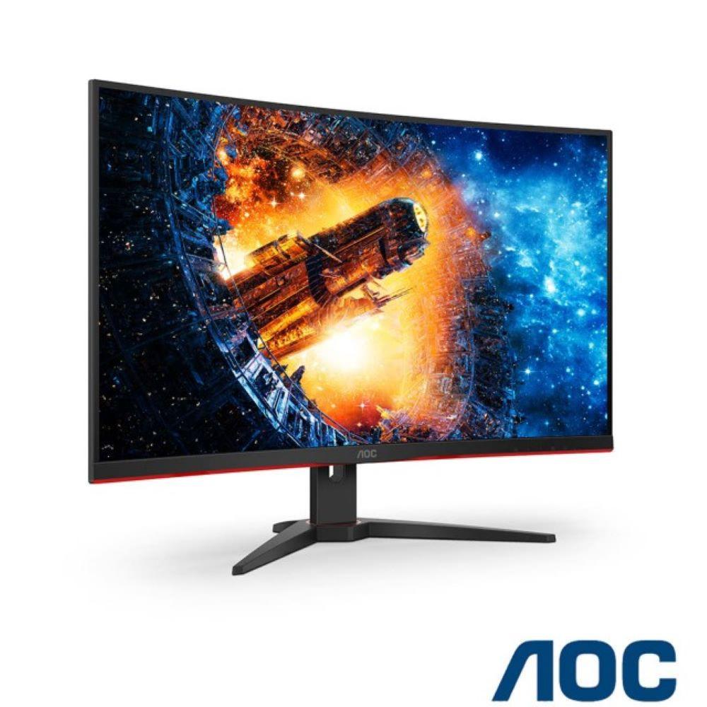 AOC AGON AG322QCX 2K 電競曲面螢幕【32型曲電競】