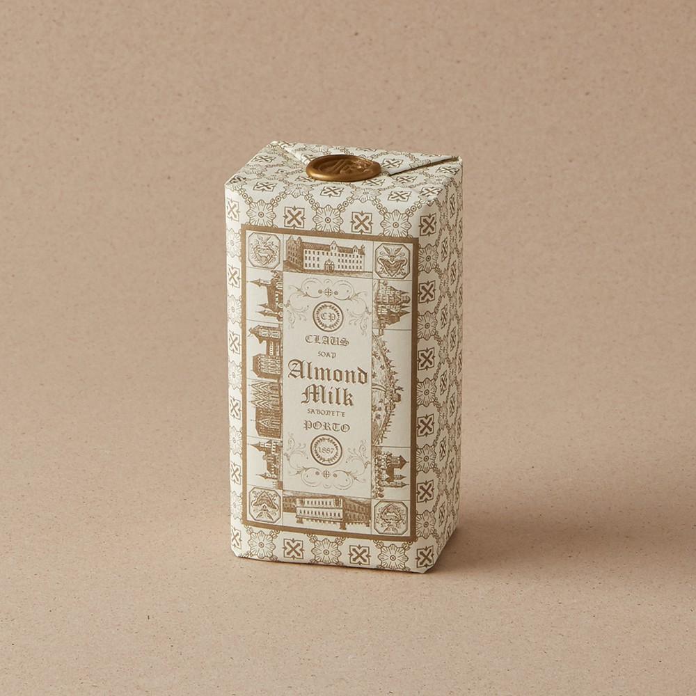 【Claus Porto】手工蠟封復古香氛皂 150g DOUBLE – ALMOND MILK 有你才完整(杏仁牛奶)