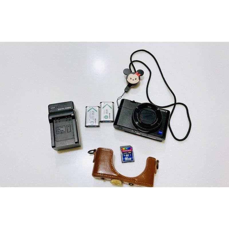 SONY DSC-RX100M4 數位相機2015年製(二手)