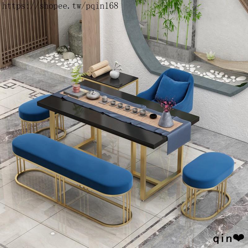 現代新中式實木茶桌家簡約用客廳小戶型茶臺辦公茶室功夫泡茶桌子